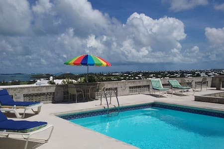 Apt #1; 1bdr of 3. Grand water views pool, patio.