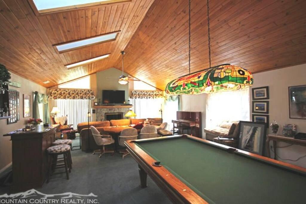 Family / Game Room Area