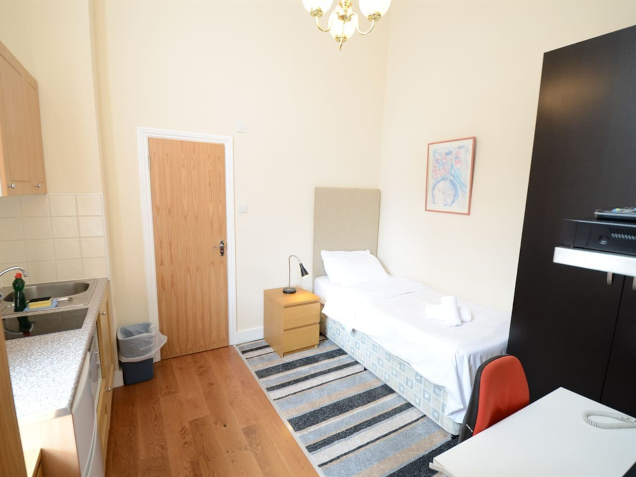 Amber Residence Hotel | Standard Single Studio