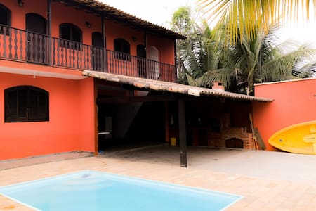 Casa c/ Piscina e Churrasqueira | Pool & BBQ House
