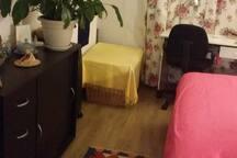Chambre dans appartement au coeur de Paris