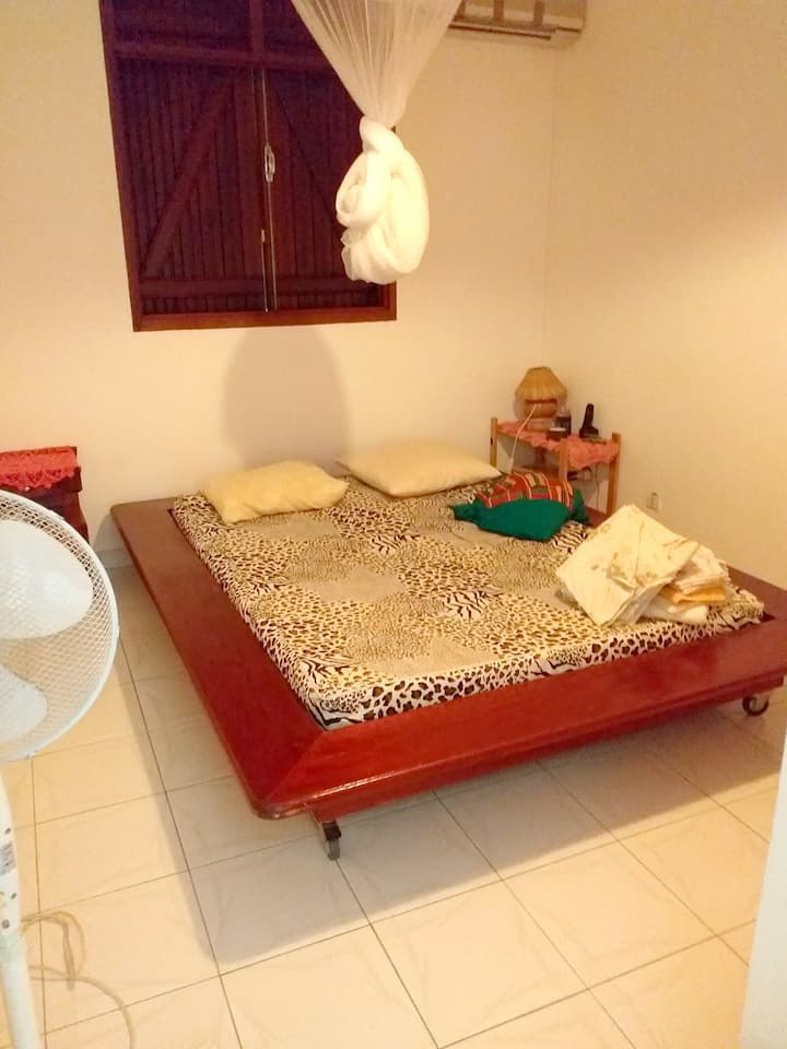 Apartment with 2 bedrooms in Sainte-Rose, with furnished terrace and WiFi
