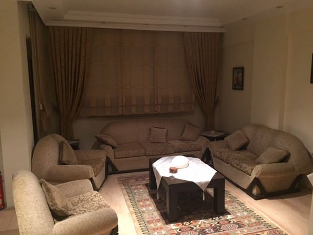 Luxury apartment close to the beach - Konyaaltı - Huis