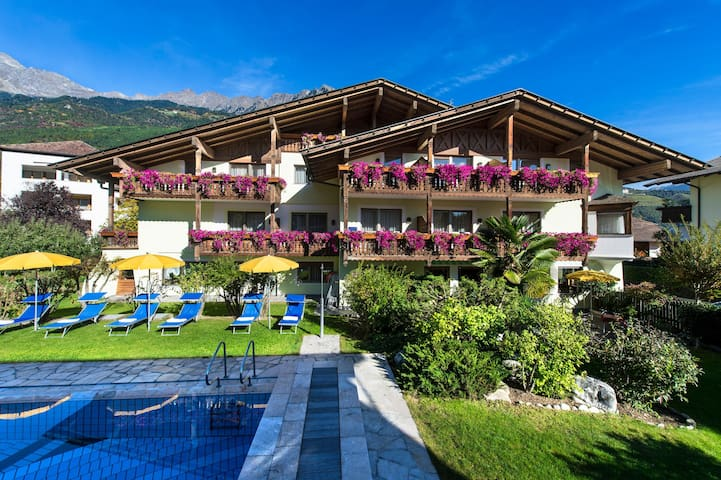 Holiday Apartment Near Merano with Pool, Balcony and Wi-Fi