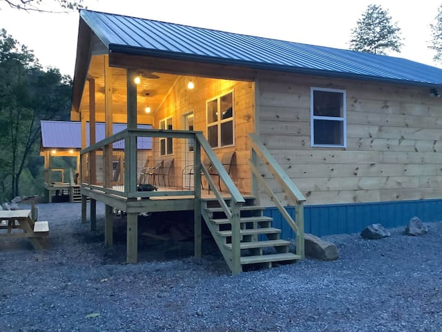 Blue Cabin (Devil's Backbone Adventure Resort)