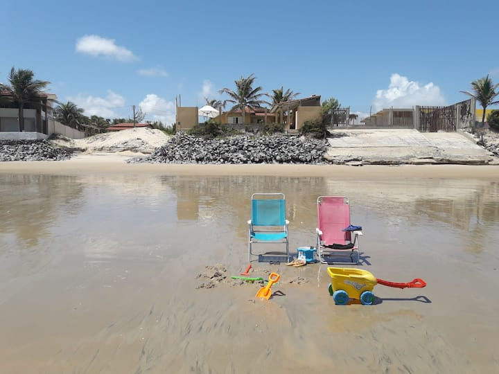 Casa Beira Mar,  Praia de Maracajaú RN/ Natal RN