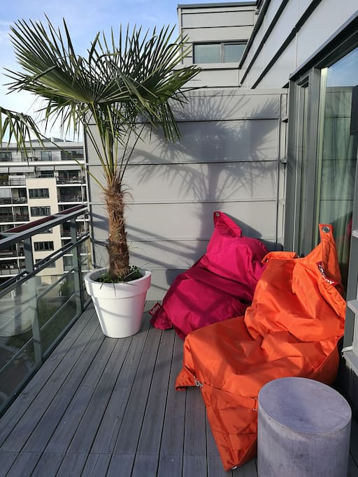 24 sqm rooftop terrace