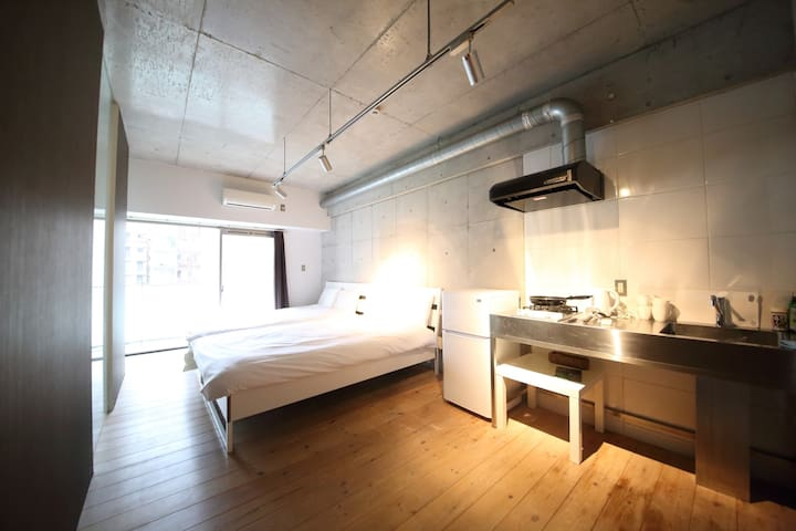 Central place near from Shinsaibashi - Osaka - Apartamento