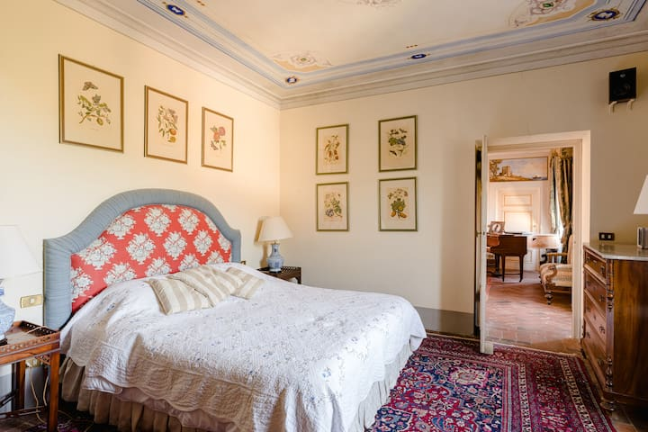 Camelia Room - In a Historical Villa in Tuscany