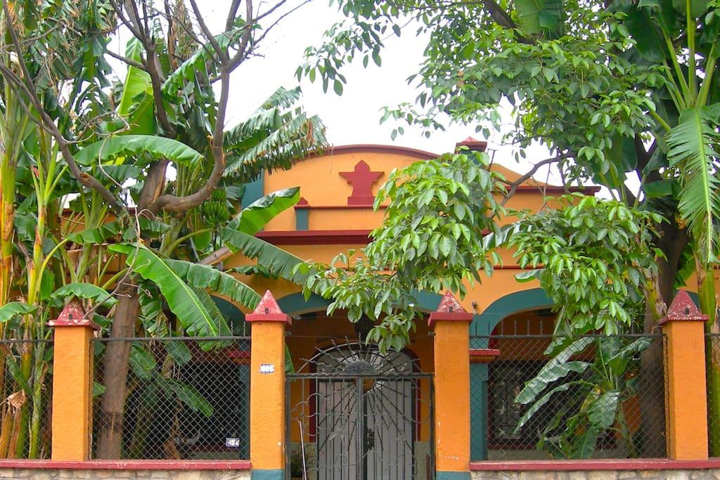 Casa Murguia is a unique 1950's  home in Oaxaca's historic center.