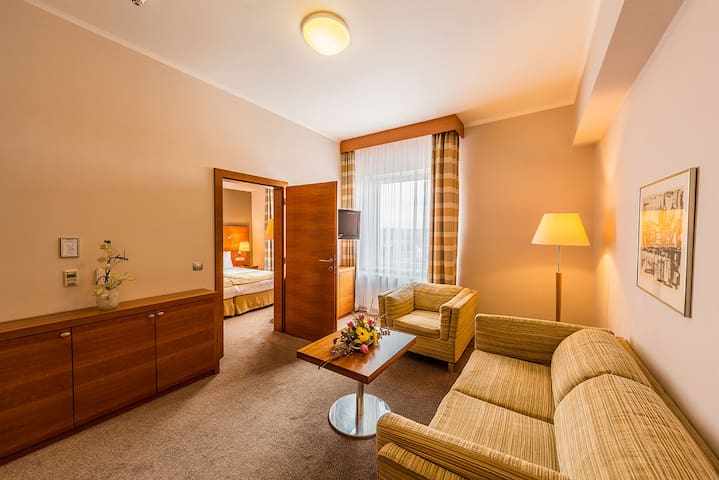Tower Suite with stunning views of Prague