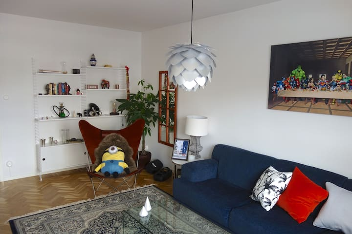 Charming 2 room flat, 15 min from Stockholm city - Stockholm  - Huoneisto