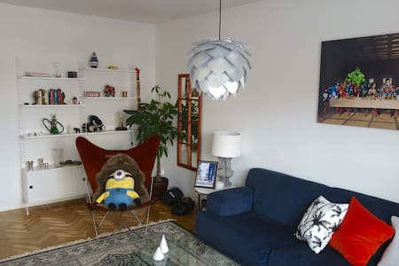 Charming 2 room flat, 15 min from Stockholm city - Stockholm  - Wohnung
