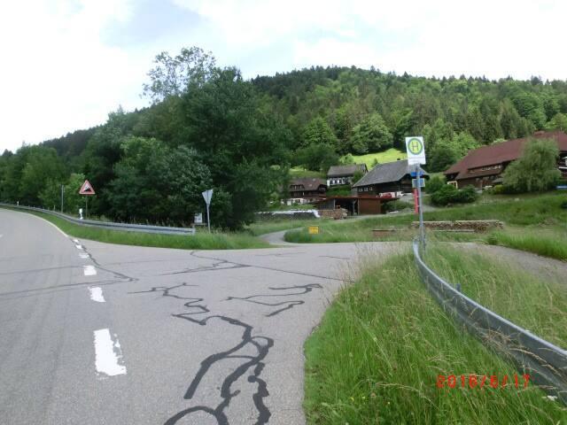 Richtung Bernau-rechts nach Hintertodtmoos