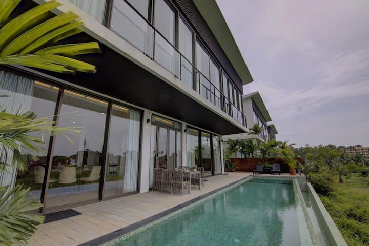 Sohonos, 3 Bed Infinity Pool villa w/River View