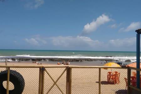 Beach front apartment - Arembepe