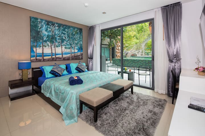 Pool Access Fantastic Apartment 40sq.m.@Patong