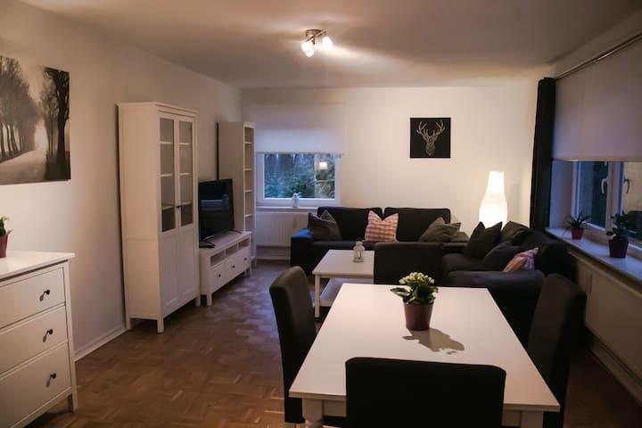 Modern eingerichtete Ferienwohnung zum Wohlfühlen
