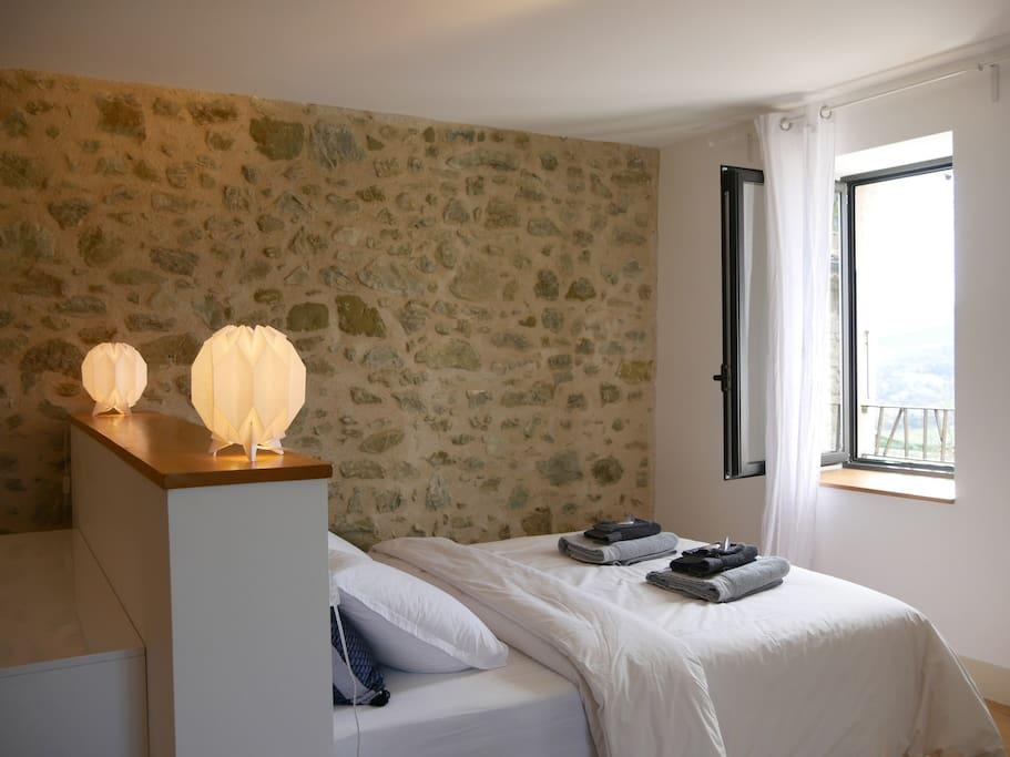 La chambre L'Oiseau, spacieuse, lumineuse
