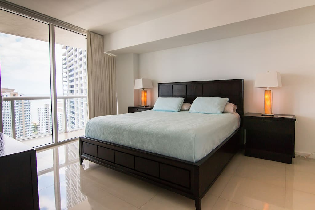 Modern King Suite at the W Miami