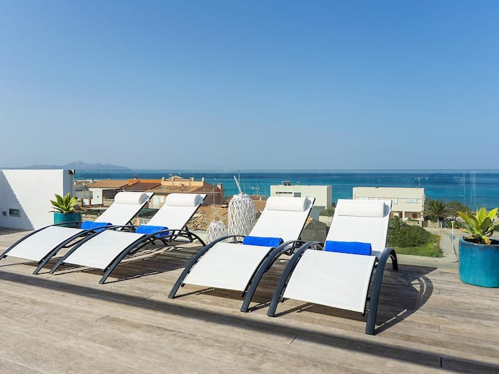 Modern Panoramic Sea View House Mallorca