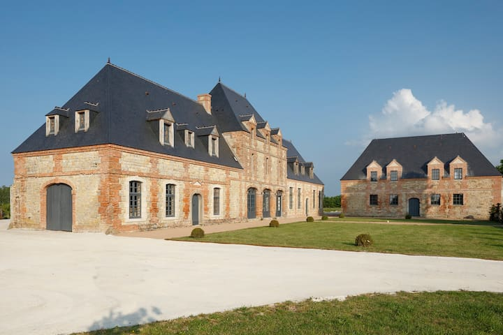 Luxury mansionin Normandy w/ garden - Ravenoville - ปราสาท