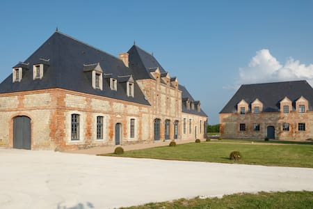 Luxury mansionin Normandy w/ garden - Ravenoville - Schloss