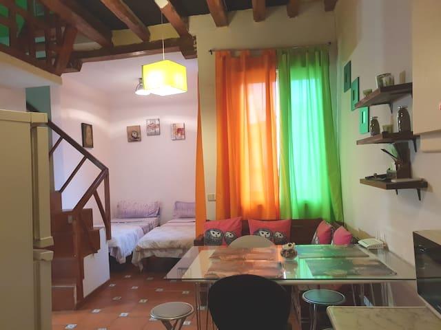 DUPLEX+APARTAMENTO+CENTRO+PUERTA SOL+GRAN VIA+WIFI