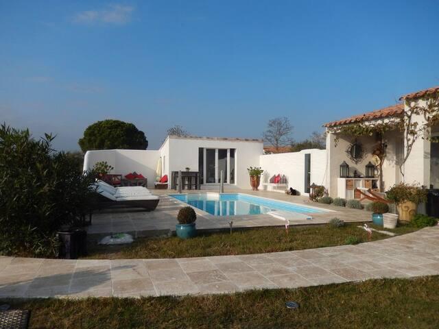 Villa de charme en Camargue