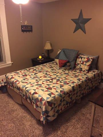 Comfy Room 5 mins to CVG Airport! - Erlanger - Casa