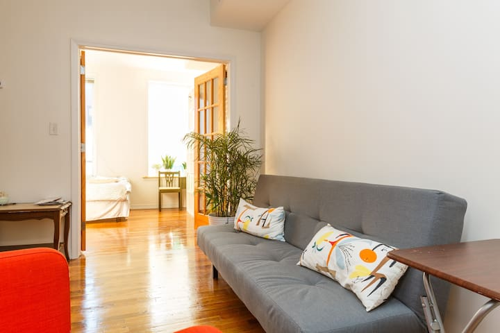 Just 10min walk to PATH, Sunny Room - Hoboken - Appartement
