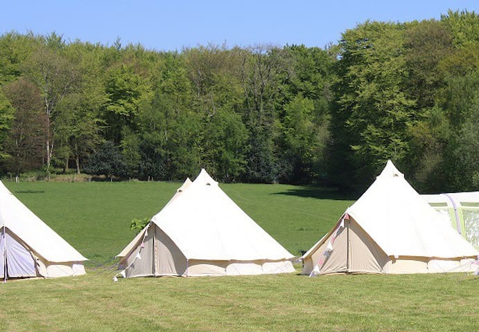 orchard cottage glamping