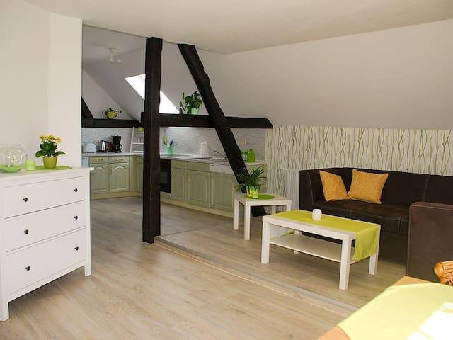 Entspannung im Grünen direkt an der Spree (WHG 1) - Beeskow - Lägenhet