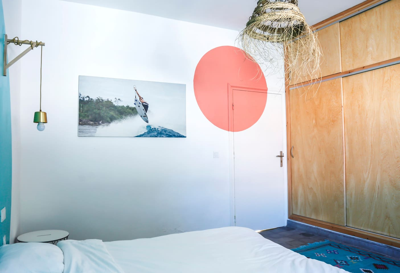 Chambre double/triple 2 - Beach House à Bouznika