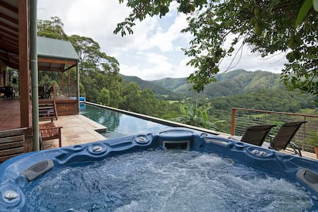 Byron Hinterland Hideaway-Queen Rm - Main Arm - Hus