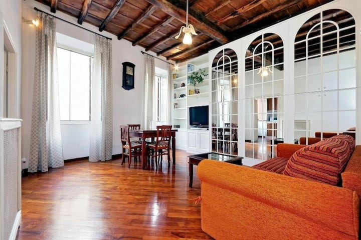 Cozy 1bdr in the heart of Rome! 81995
