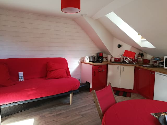 Appartement cosy au centre-ville d'Ax