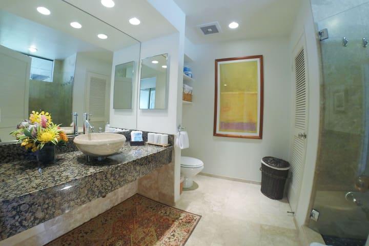 Spa inspired bath