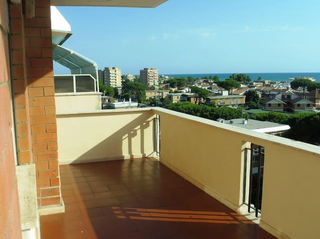 Apartment nice Terrace beach & thermae