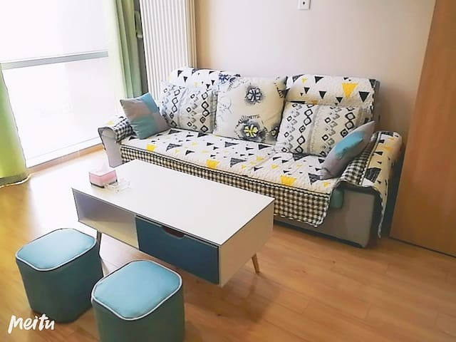 【清欢宿】简约双层公寓  暖阳落地窗 温馨舒适  适合商务、旅行下榻之所