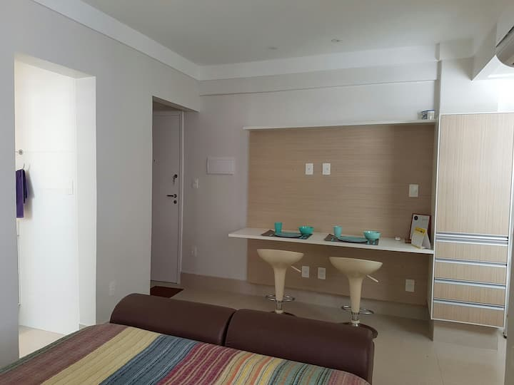 New and confortable apartment in Santos Beach