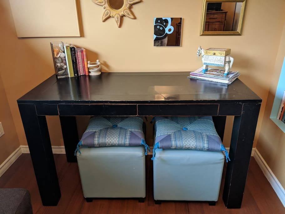 Lovely desk for that little bit of work you need to get done!
