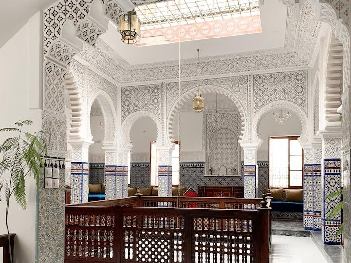 Riad Tetuanía, Habitación Sultán