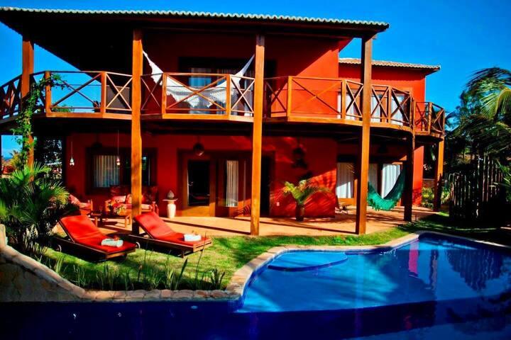 Casa Divine - Pipa no luxuoso condomínio - Domus