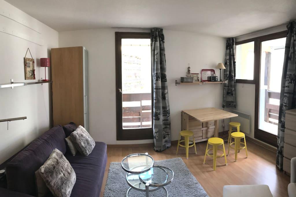Salon / pièce à vivre