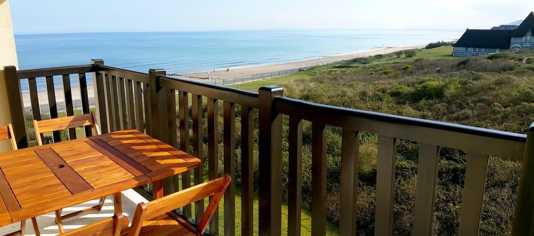 Magnifique vue mer et forêt - Cabourg - Apartamento