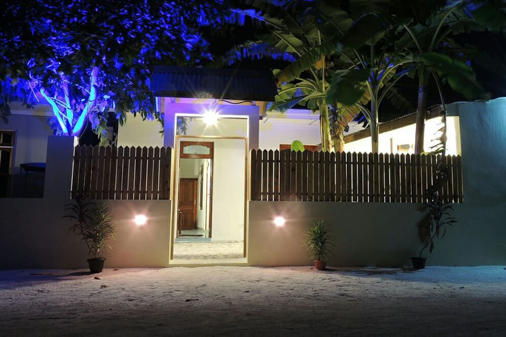 night view of Dhivehiexperience