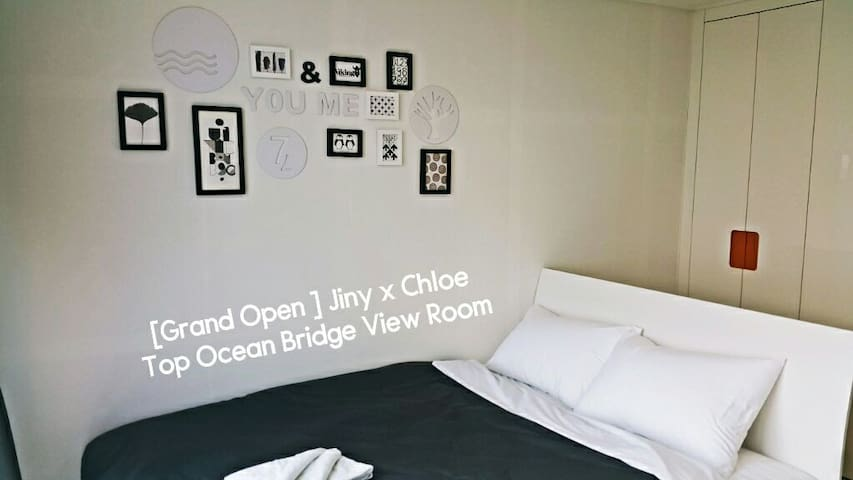 Jiny's Top Ocean Bridge View Room - 부산광역시