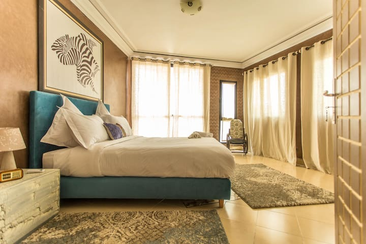Cosy Big Flat of 73m² at Gueliz (Entire Apt) - Marrakesh - Apartamento