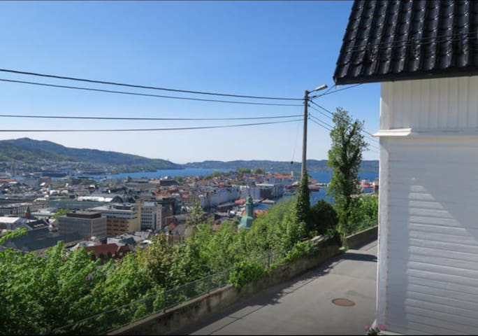 Apartment in Bergen city hill side - Bergen
